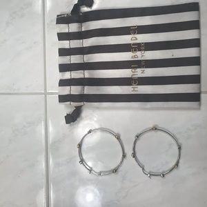 Henri Bendel Large Hoop earrings